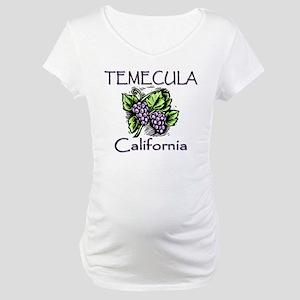 Temecula Grapes Maternity T-Shirt