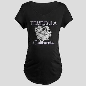 Temecula Grapes Maternity Dark T-Shirt