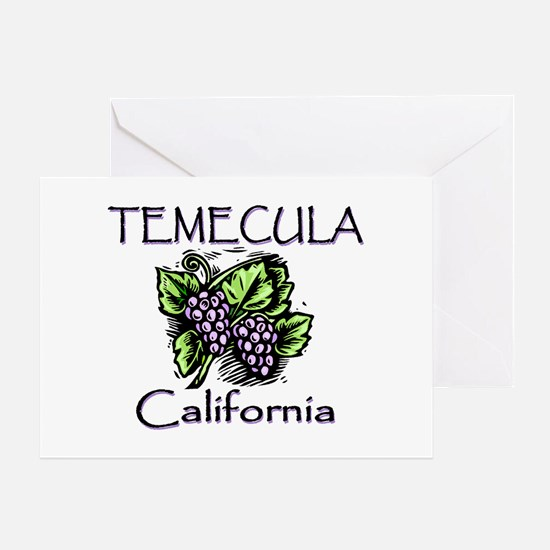 Temecula Grapes Greeting Card