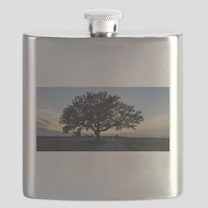 Old Oak Tree Flask