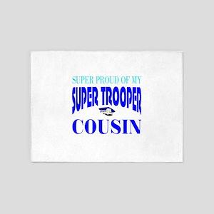 Super trooper cousin 5'x7'Area Rug