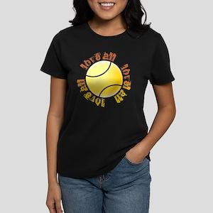 Love All Tennis Women's Dark T-Shirt