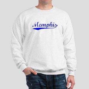 Vintage Memphis (Blue) Sweatshirt