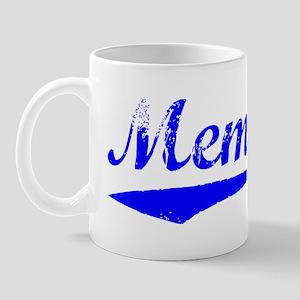 Vintage Memphis (Blue) Mug