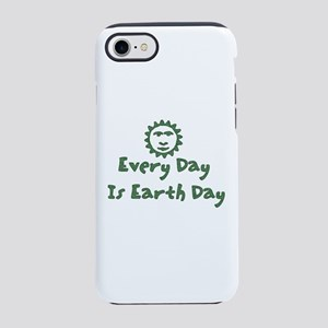 Every Day is Earth Day iPhone 8/7 Tough Case
