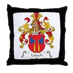 Loesch Family Crest Throw Pillow