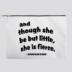 Shakespeare Quote Makeup Bag