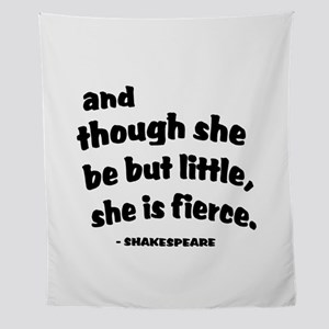 Shakespeare Quote Wall Tapestry