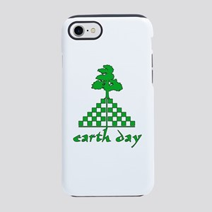 Earth Day Mountain and Tree iPhone 8/7 Tough Case