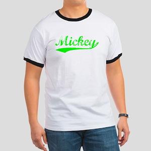 Vintage Mickey (Green) Ringer T