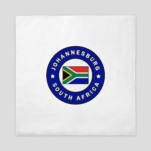 Johannesburg South Africa Queen Duvet