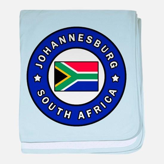 Johannesburg South Africa baby blanket