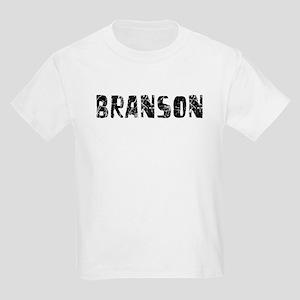 Branson Faded (Black) Kids Light T-Shirt