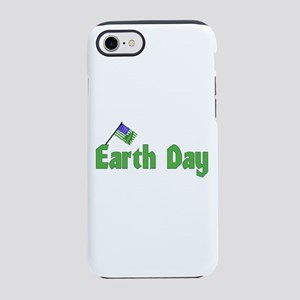 Earth Day With Green Flag iPhone 8/7 Tough Case