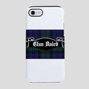 Clan Baird Tartan Banner iPhone 8/7 Tough Case