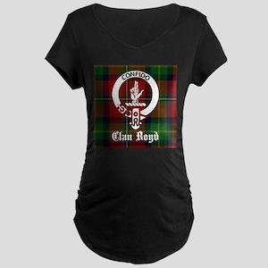 Clan Boyd Crest Maternity T-Shirt