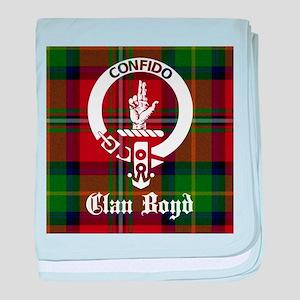 Clan Boyd Crest baby blanket