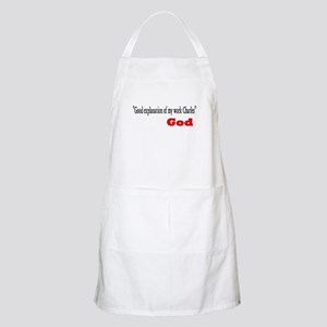 Funny christian quote Light Apron