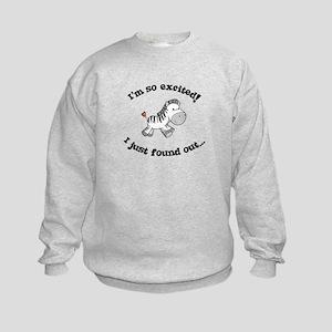 big brother t-shirt zebra Kids Sweatshirt
