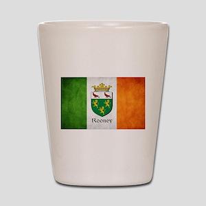 Rooney Irish Flag Shot Glass