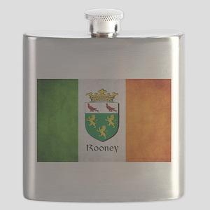 Rooney Irish Flag Flask