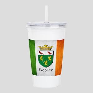 Rooney Irish Flag Acrylic Double-wall Tumbler