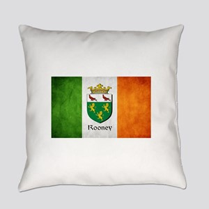 Rooney Irish Flag Everyday Pillow