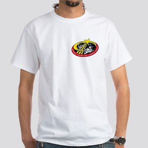 STS-123 Logo and Artwork White T-Shirt