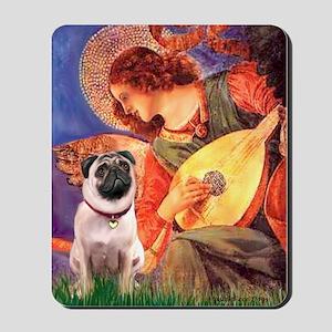 Mandolin Angel / Pug (f) Mousepad