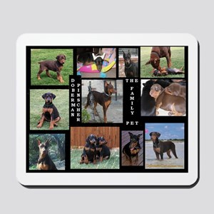 The Family Pet - Doberman Pin Mousepad