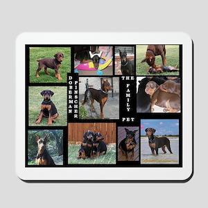 The Family Pet - Doberman Pin Mousepad