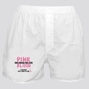 Pink Blood 1 (In The Fight) Boxer Shorts