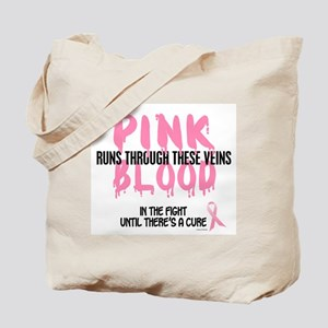 Pink Blood 1 (In The Fight) Tote Bag