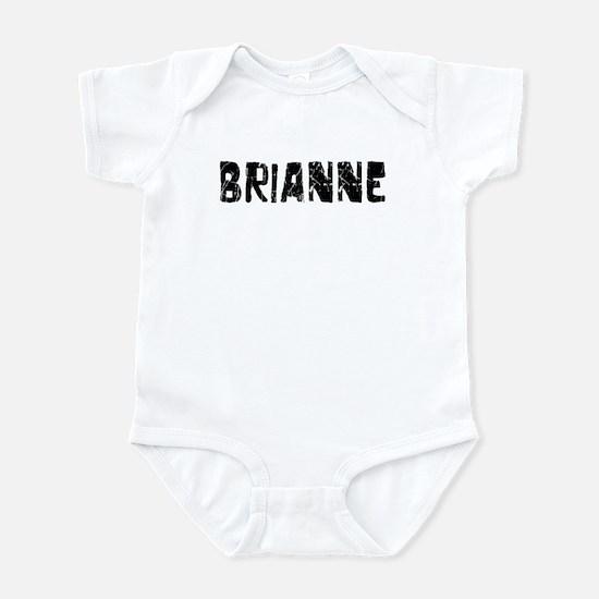 Brianne Faded (Black) Infant Bodysuit