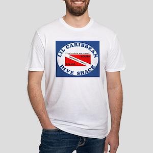 lil caribbean dive shack logo T-Shirt