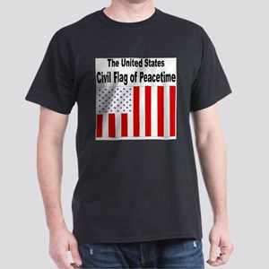 U.S. Civil Flag Ash Grey T-Shirt