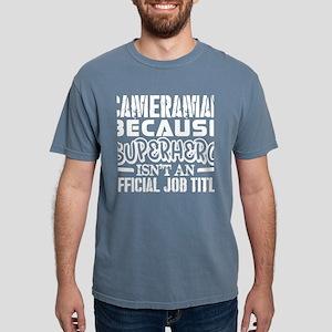 Cameraman Because Superhero Official Job T T-Shirt