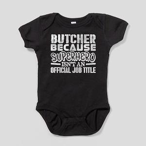Butcher Because Superhero Official Job T Body Suit