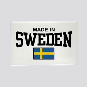 Made in Sweden Rectangle Magnet