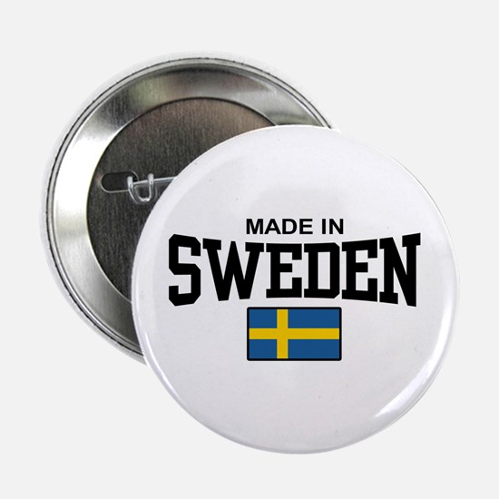 "Made in Sweden 2.25"" Button"
