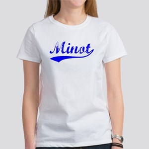 Vintage Minot (Blue) Women's T-Shirt