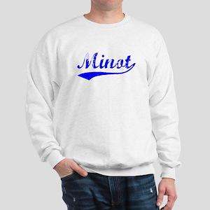 Vintage Minot (Blue) Sweatshirt