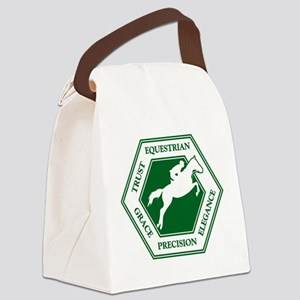 EQUESTRIAN Canvas Lunch Bag