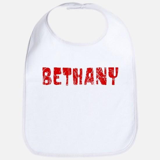 Bethany Faded (Red) Bib