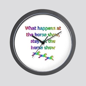 What happens at Wall Clock