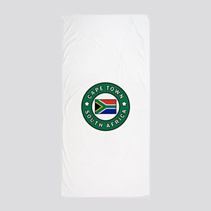 Cape Town South Africa Beach Towel