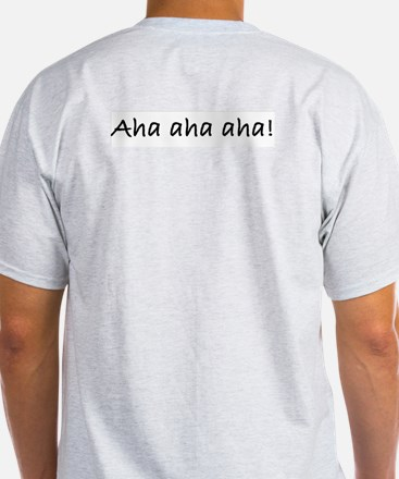 Woe to them that have a nose Ash Grey T-Shirt