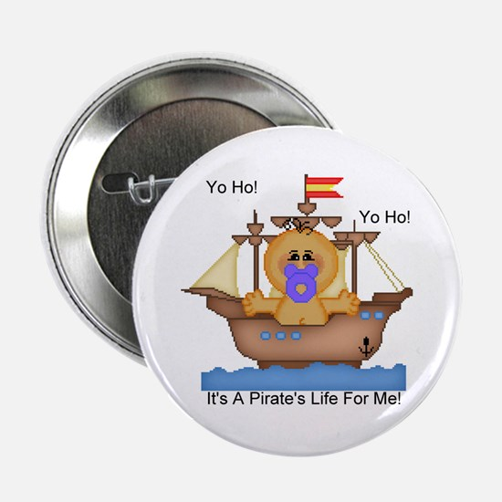 YoHo YoHo It's A Pirate's Life Button