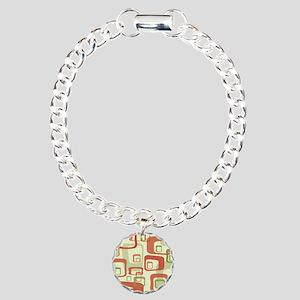 Mid Century Modern in Gr Charm Bracelet, One Charm