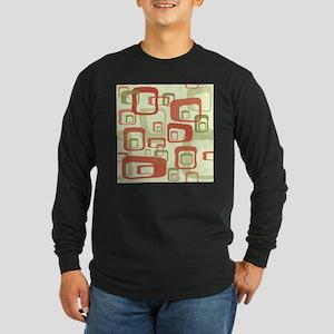Mid Century Modern in Green an Long Sleeve T-Shirt